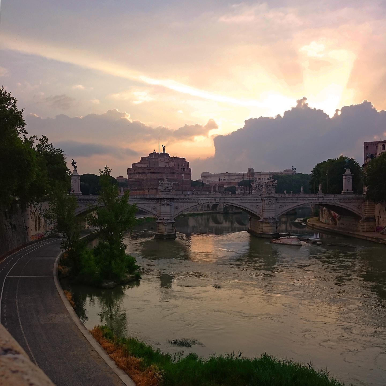 Sunrise, Rome