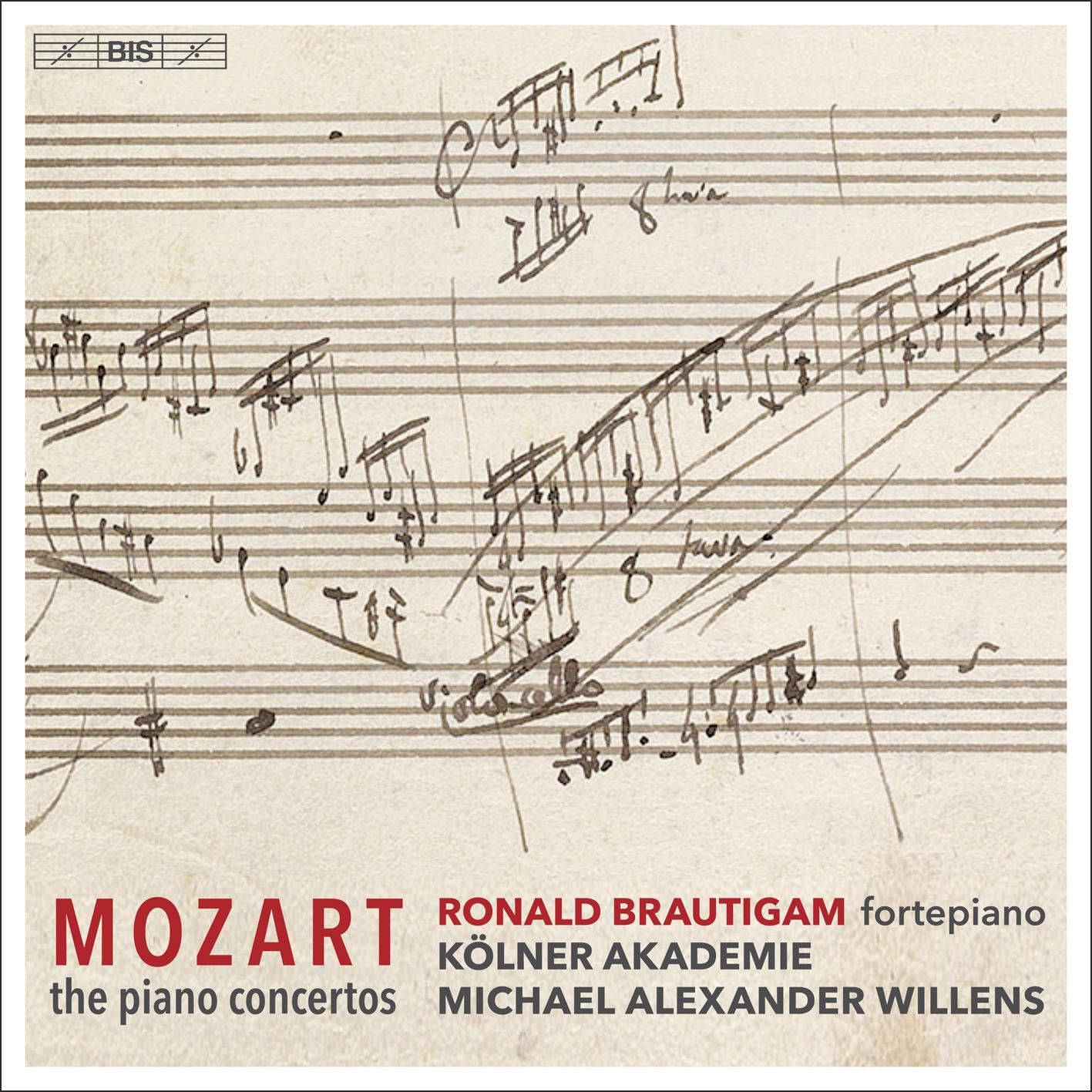 Mozart Piano Concertos - Brautigam