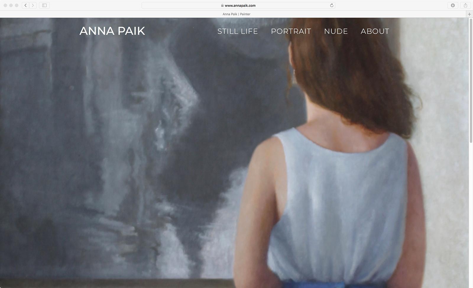 Anna Paik Website