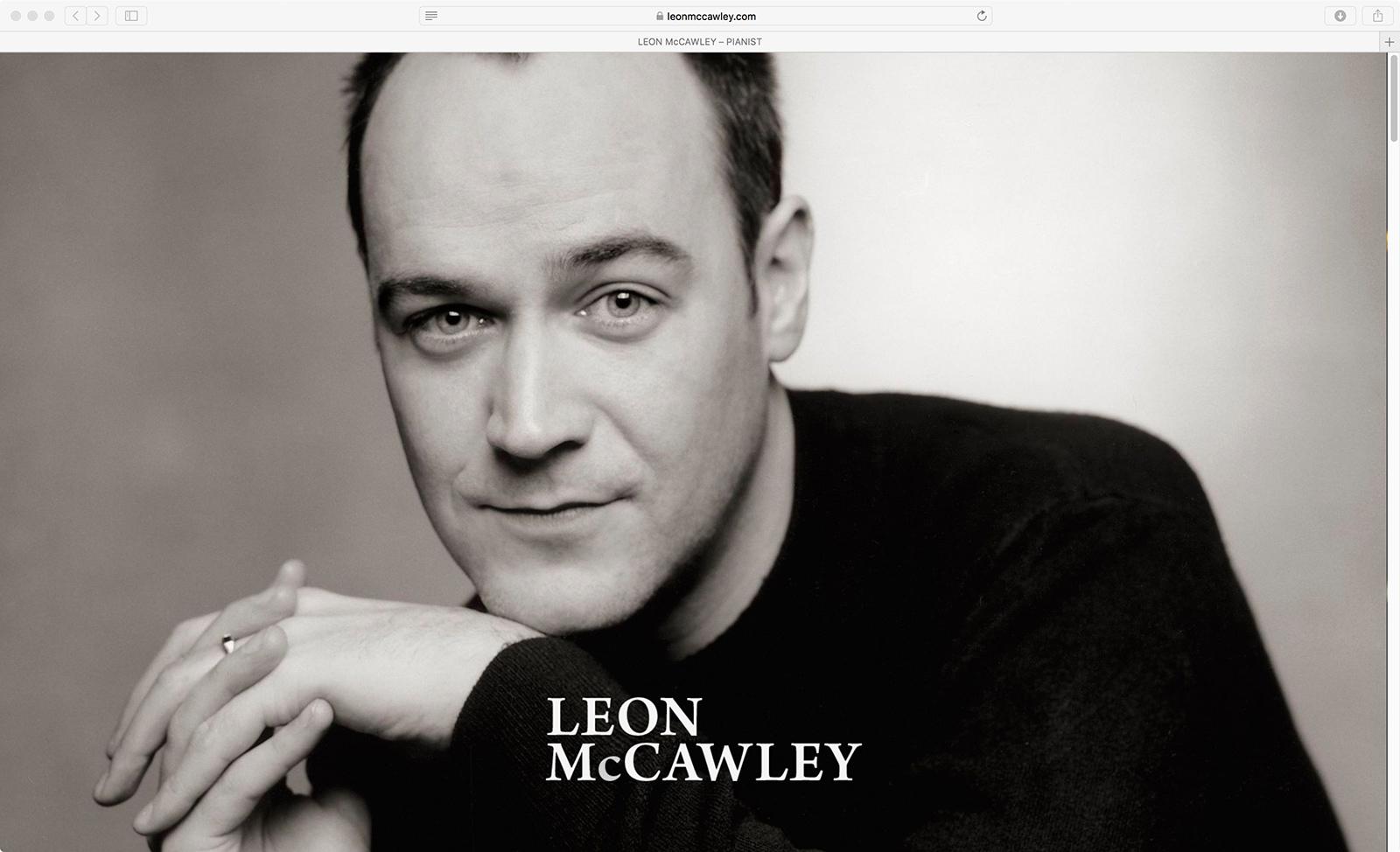 Leon Mccawley Website